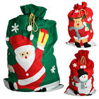 Giant Christmas Santa Sack Red Green Stocking Bag Gift Presents Xmas Toy Tree
