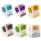 New Portable Mini USB Fan Desktop Dual Bladeless Air Conditioner Cooling Fans