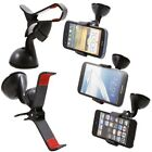 Car Mount Holder/Stand for Windshield - Rotating 360° for GPS and Mobile Phones