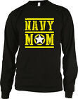 Navy Mom Mother Star Armed Forces Military Patriotic USA Long Sleeve Thermal