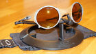 OAKLEY Sunnglasses New MARS Leather/Gold Iridium 04-104 serial M*016035 Jordan