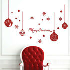 Christmas Decoration Snow Flakes Ball Star Wall Stickers / Wall Decals