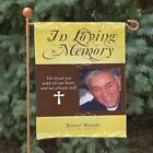Personalized Memorial Garden Flag Personalized Photo In Loving Memory Flag