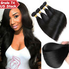 300g THICK 3 Bundles 7A 100% Unprocessed Virgin Human Hair Brazilian Peruvian
