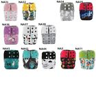 U PICK Newborn AIO Cloth Diaper Nappy Charcoal Insert Night Washable Resuable