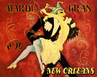 """1939 Carnival Mardi Gras New Orleans Lousiana 16"""" X 20"""" Vintage Poster FREE S/H"""