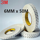 DZ602 3M Double Side SUPER STICK HEAVY ADHESIVE For Repair Cell Phone 6mm x 50M☆