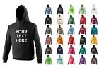 NEW UNISEX AWDIS PERSONALISED PRINTED COMPANY HEN STAG HOODY HOODIE XS-5XL