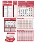 2016 CALENDAR/PLANNER (Plain/Clear/Work) Large Range of Styles/Sizes