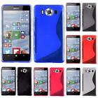 For Microsoft Lumia 950 Bendable Flexible Frosted S-Shape TPU Cover Case