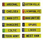 OFFICIAL FOOTBALL CLUB - Number Plate Sign (Metal) (Car/Room/Decor/Gift/Xmas)
