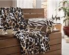 Brielle Safari Faux Fur Throw NEW