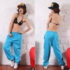 Mens Womens Casual Harem Baggy Hip Hop Dance Jogging Sweat Pants Slacks Trousers