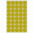 New 80 Pcs Dot Sticker Circle Round Tag Labels Paper Color 25mm 2 Sheets Color
