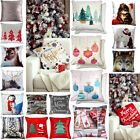 Winter & Christmas Print Cushion Covers or Filled Cushions