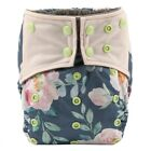U PICK Bamboo Charcoal Baby Cloth Diaper Nappy Cover Reusable,Double Gussets