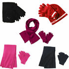 Puma Fundamentals Knit Nike NSW Gloves & Scarves Unisex Mens Womens Sets
