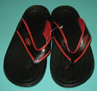 New Men Slippers shoes Red Black Size US 7 to 10