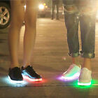 Fashion LED Lace Up Luminous Unisex Sportswear Sneaker Luminious Casual Shoes
