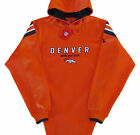Denver Broncos NFL Long Pass Team Colors Hoodie Jersey-Adult Large-NWT