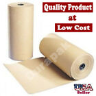 """30"""" 40 lbs 900 Ft Brown Kraft Paper Roll Shipping Wrapping Cushioning Void Fill"""