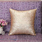 Glitter Sequins Solid Color Throw Pillow Case Home Car Waist Cushion Cover AB23