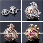 Womens Life Leaf Chime Bola Cage Harmony Pregnant Pendant For Ball Necklace
