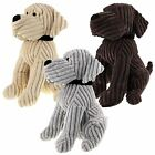 PUPPY DOGGY FABRIC DOOR STOP LUXURY HEAVY DUTY STOPPER TAN GREY BROWN