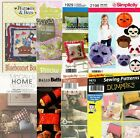 Pillows Sewing Patterns ~ All Uncut ~ Your Choice ~ Free Shipping