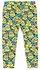 Girls Minions All Over Pile On Minion Print Fashion Leggings 2 to 8 Years NEW