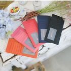 Fashion slim Womens leather long wallet Coin Card Holder Melissa Ladies Purses
