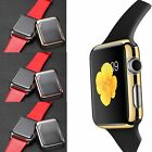 Metal Hard Cover Case w/Built-in Screen Protector for Apple Watch iWatch 38/42mm