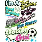 SOCCER GIRL T-SHIRT  (UNISEX FIT) SOCCER SPORTS
