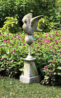 Dove Finial Outdoor Garden Statue Sculpture by Orlandi Statuary FS00261