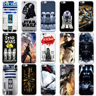Cartoon Star Wars Characters Heros Soft Case For iPhone 6s Plus 6S 6 5s 7 Plus 7