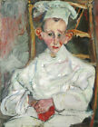 "CHAIM SOUTINE ""The Little Pastry Cook from Cagnes"" chef ears CHOOSE CANVAS SIZE"