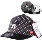 New authentic Disney Mickey Mouse Child size Hat Boy's hats dots Baseball caps