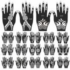 1Pcs India Henna Temporary Tattoo Stencils For Hand Leg Arm Feet Body Art Decal