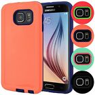 For Samsung Galaxy S6 Slim Hybrid Case Hard ShockProof Shell Cover