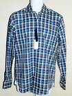 Mens Size S & M Long Sleeve Checkered Button Down Shirt by The Mens Store $108