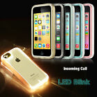 For Apple iPhone 5C Heavy Duty Hybrid Clear Hard Case Cover & Screen Protector