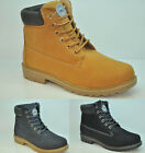 LADIES WOMENS ARMY COMBAT FLAT GRIP SOLE LINED WINTER ANKLE BOOTS SHOES SIZE