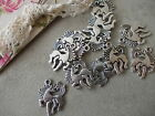 FANTASY HORSE SILVER TIBETAN METAL CHARMS, PENDANTS,JEWELLERY