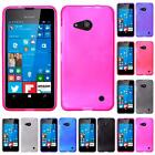 For Nokia Lumia 550 Bendable Flexible Frosted TPU Cover Case