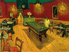 Billiard Pool Table Game Bar by Painter Vincent Van Gogh Poster Repro FREE S/H