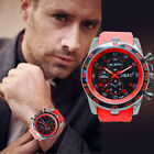 Stainless Steel Luxury Sports Watch Men Quartz Watch Charm Analog Wrist Watch