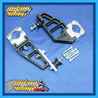 GO KART ROTAX MAX EXHAUST SUPPORT BRACKET KIT DUAL MOUNT PAIR 30-32 CHASSIS NEW