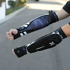 NEW HK Army Paintball Padded Crash Elbow Forearm Arm Pads - Black/White