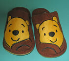 New Unisex Pooh plush Winter slippers Brown