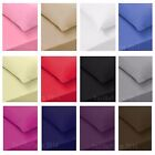 2 X Pillow Case Luxury 100% Housewife Egyptian Cotton 200 Thread Count Pair Pack